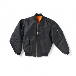 Boeing Nylon Flight Jacket - Black