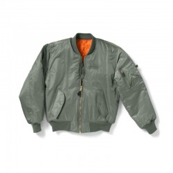 Boeing Nylon Flight Jacket - Green