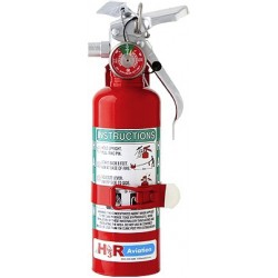 H3R Aviation Halon 1211 Fire Extinguisher - MODEL A344T