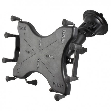 """RAM® X-Grip® with RAM® Twist-Lock™ Suction Cup Mount for 9""""-10"""" Tablets"""