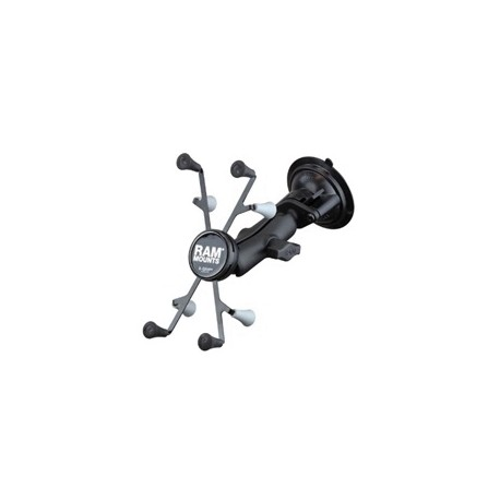 RAM Twist-Lock™ Suction Cup Mount with Universal RAM® X-Grip® Cradle