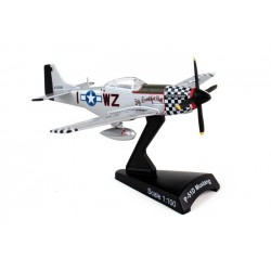 Postage Stamp 1:100 P51D Mustang