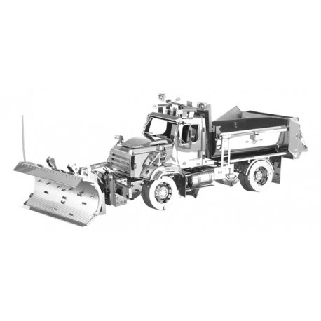 Fascinations METAL EARTH - Freightliner 114SD Snow Plow