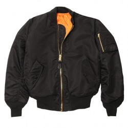 Alpha MA-1 Flight Jacket (Black)