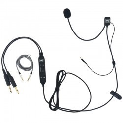 UFQ AV Mike-2 Aviation Headset Adapter