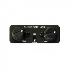 Flightcom 403LSA 2-Place Intercom