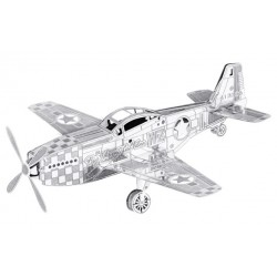 Fascinations METAL EARTH - Aviation P-51 Mustang