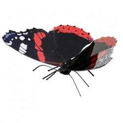 Fascinations METAL EARTH – Butterfly Red Admiral