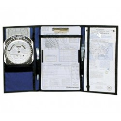 Jeppesen VFR Tri-fold Kneeboard with Clipboard