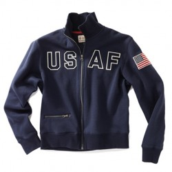 Red Canoe USAF Full Zip Sweatshirt