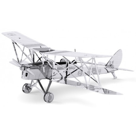 Fascinations METAL EARTH - Aviation DH82 Tiger Moth