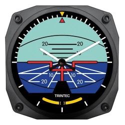 "Trintec 6"" Artificial Horizon Wall Clock"
