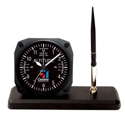 Trintec Desk Pen Set Cessna Altimeter