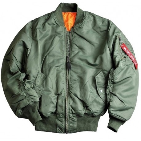 Alpha MA-1 Flight Jacket (Sage Green) - AeroShop 3c7d1f69047