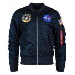 Alpha L-2B NASA Flight Jacket (Blue)