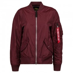 Alpha L-2B Scout Jacket for Women (Maroon)